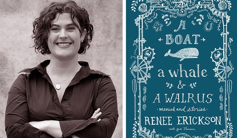 """Jesse Houston will partner with Seattle chef Renee Erickson (pictured) for a guest chef dinner, where she will sign her cookbook, """"A Boat, A Whale & A Walrus, at Saltine April 6. Photo courtesy Sasquatch Books, photo by Jim Henkens"""