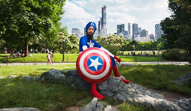 Sikh cartoonist Vishavjit Singh visited Millsaps College March 1. Photo courtesy Fiona Aboud