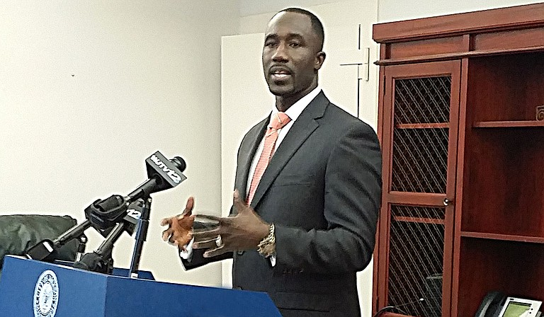 Mayor Tony Yarber signed a declaration for a state of emergency late Thursday that will enable the city to tap into money from state health and environmental agencies to fix damages from several water-main breaks over a 24-hour period.