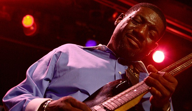 """Jackson native Stephen """"Stevie J Blues"""" Johnson presents new songs from his upcoming album, """"Back to Blues,"""" Thursday, April 2, at Underground 119. Photo courtesy Stevie J Blues"""