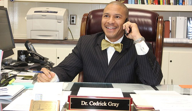 Dr. Cedrick Gray, superintendent of Jackson Public Schools, seems to have the district moving in the right direction even if JPS' budget isn't. Photo courtesy Jackson Public Schools