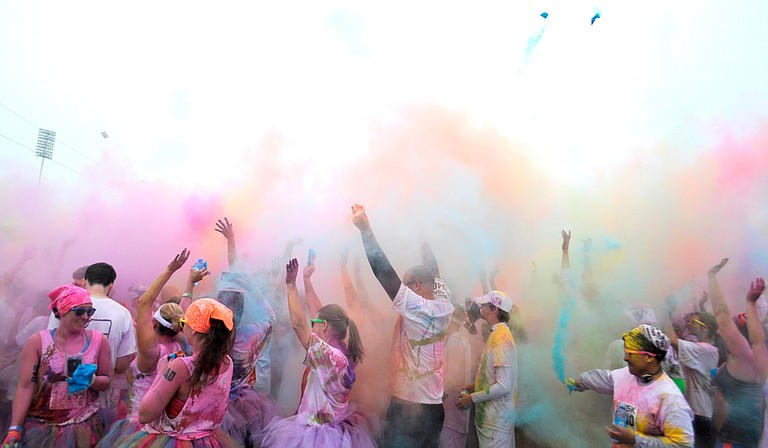 Though in past years, Color Me Rad has been around Zippity Doo Dah weekend in March, it is Oct. 31 this year.