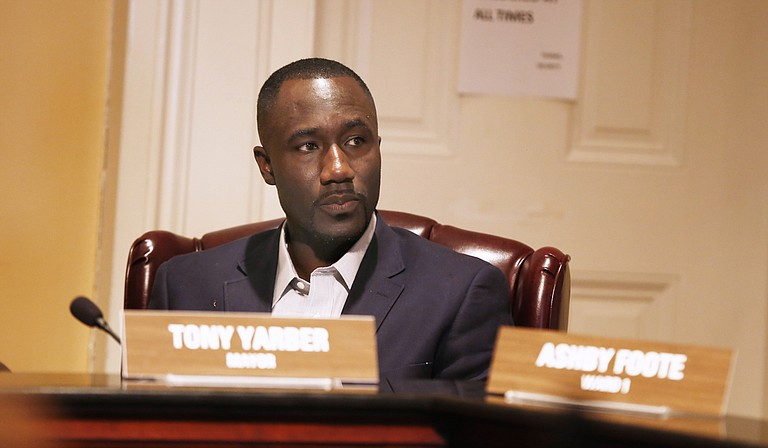 Mayor Tony Yarber and the Jackson City Council plan to ask for a formal hearing to contest the approval of a wastewater facility that could take a bite out of the city's budget.