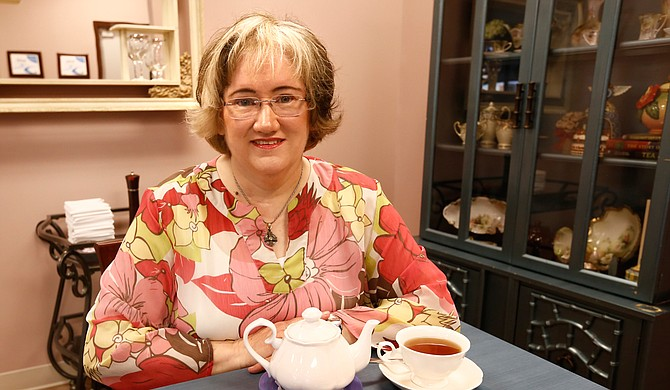 High Biscuits Owner Karen Gordon recently hosted a grand opening for High Biscuits tearoom.