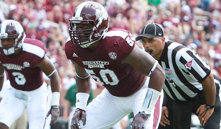 The Houston Texans selected Benardrick McKinney in the second round of the NFL Draft. Photo courtesy Mississippi State University Athletics