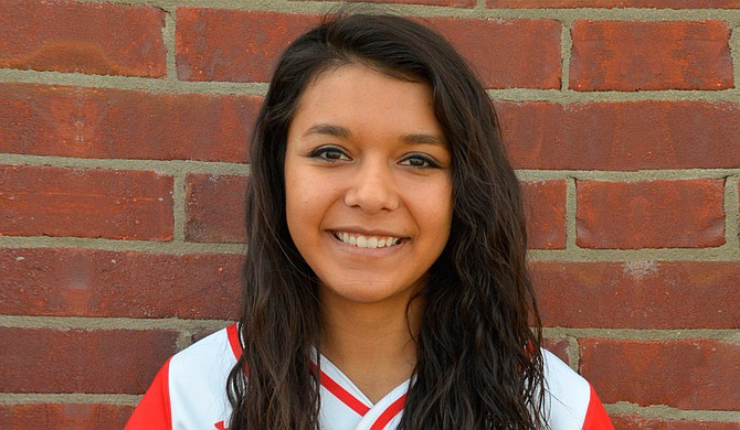 Neshoba Central High School softball star Hailey Lunderman signed with Ole Miss in November 2014. Photo courtesy Neshoba Central High School