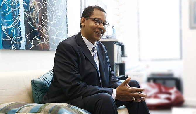 Cedric Morgan considers himself a techie with a customer-service touch—just the combination of skills needed to be the Hinds County circuit clerk.