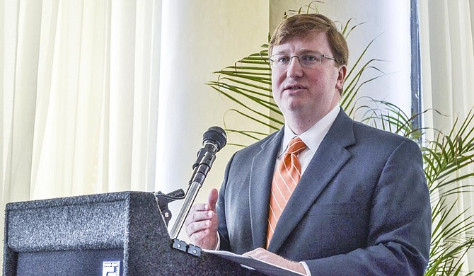 Attorneys for Lt. Gov. Tate Reeves (pictured) and House Speaker Philip Gunn said a Hinds County circuit judge had no authority to rewrite the title for 42-A. Photo courtesy Amile Wilson