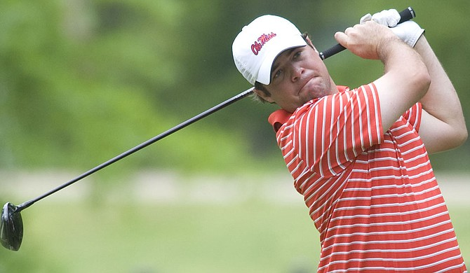 PGA Tour rookie and Brandon, Miss., native Jonathan Randolph enjoyed his brightest moment of his rookie season at the AT&T Byron Nelson Classic May 28-31. Photo courtesy Ole Miss Athletics