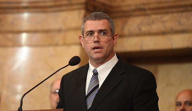 Attorneys for Lt. Gov. Tate Reeves and House Speaker Philip Gunn (pictured), R-Clinton, said in written arguments that a Hinds County circuit judge had no authority to rewrite the title for 42-A. Photo courtesy Amile Wilson