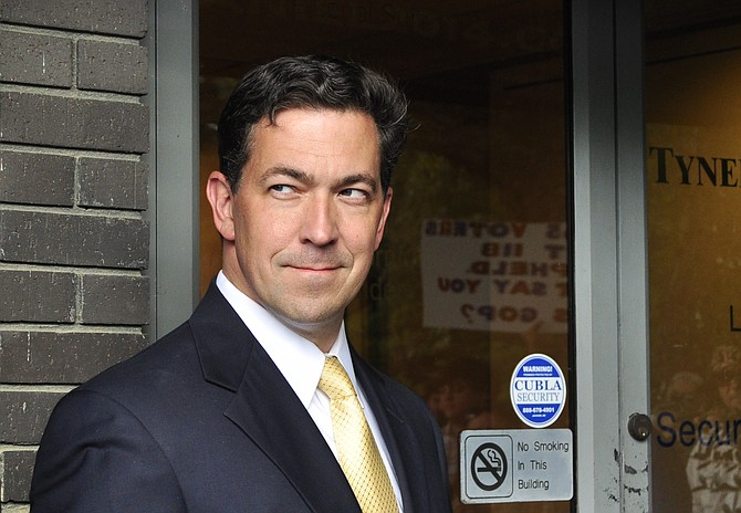 Senator Chris McDaniel slammed the notion of changing the state flag to remove the Confederate battle emblem. Photo courtesy Trip Burns/File Photo