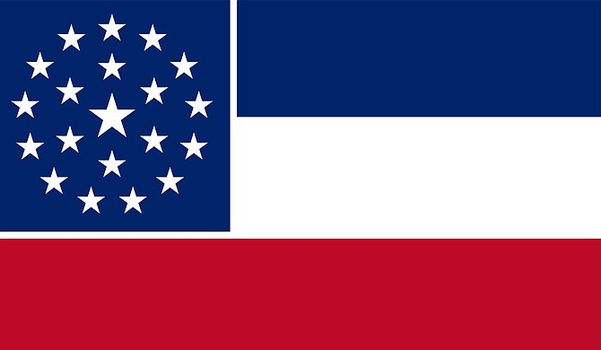 In April 2001, Mississippi voters rejected this alternative to the state flag in a 2-to-1 vote. Photo courtesy Wikicommons/Age234