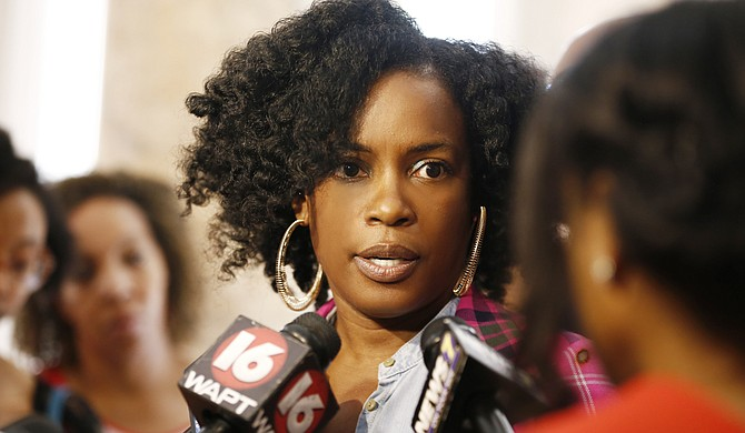 "Aunjanue Ellis, who has appeared in ""The Help,"" ""The Book of Negroes"" and ""NCIS LA,"" calls for filmmakers to avoid her home state of Mississippi until the state flag is changed. She spoke at a June 29 flag rally at the Mississippi Capitol."