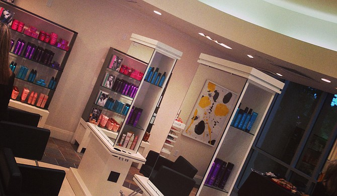 Barnette's Dry Bar puts a modern spin on sitting under a hair dryer at a beauty shop.