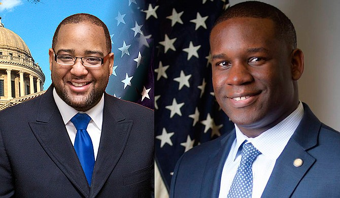 The District 26 race for the open House seat is between two Democrats: Orlando Paden (left) and Sanford Johnson (right). They disagree on charter schools. Photos courtesy Paden Campaign/Sanford Johnson.