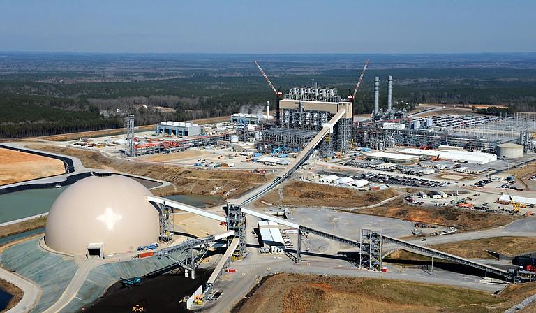 The Kemper power plant Photo courtesy Mississippi Power