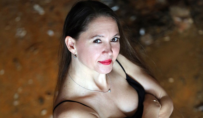 Greenville blues pianist Eden Brent performs Friday, Aug. 14, for the third annual Jackson Rhythm & Blues Festival at the Mississippi Agriculture and Forestry Museum. Photo courtesy Eden Brent
