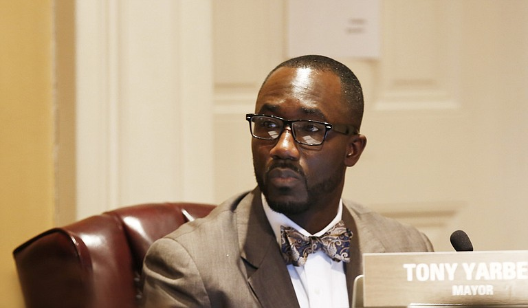 Mayor Tony Yarber presented his second budget proposal, which attempts to fill a $15-million budget shortfall with employee furloughs, raising property taxes and dipping into the city's reserves.