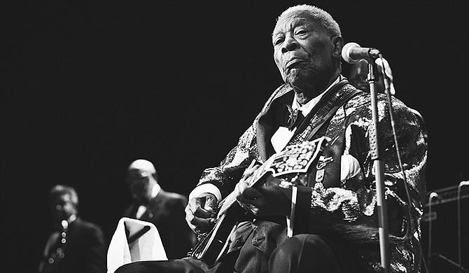 B.B. King Photo courtesy Flickr/Justin Block