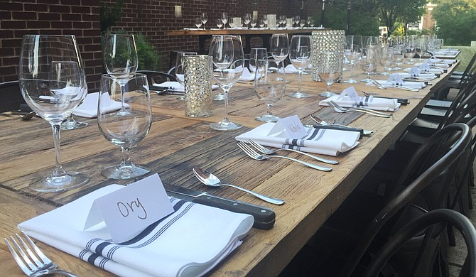 CAET Wine Bar hosts its supper clubs each month.