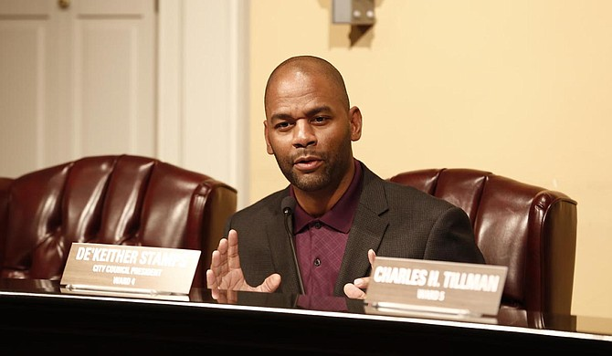 Ward 4 Councilman De'Keither Stamps wants the city council to reconsider a $4.5 million contract with an operations company to run JATRAN in light of problems that have emerged since the company took over Oct. 1.
