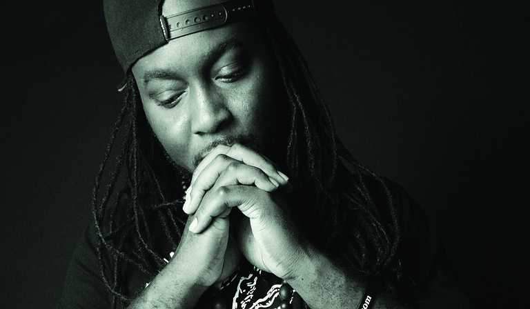 """Jackson hip-hop artist 5th Child returned from a three-year hiatus to release his seventh album, """"My Conversations with God,"""" on Saturday, Oct. 17. Photo courtesy Adrienne Domnick"""