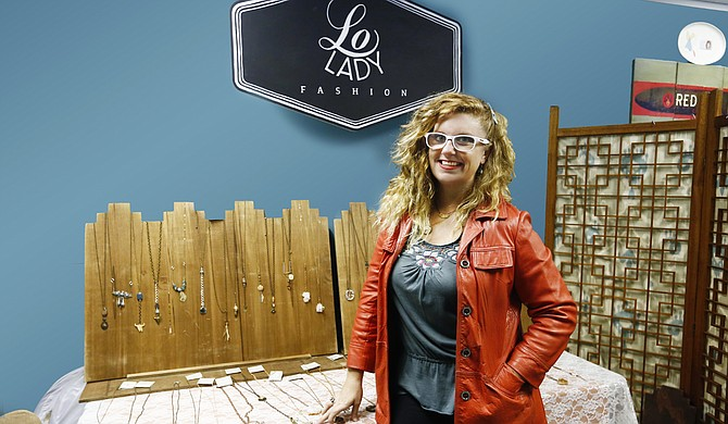 Lauren Miltner began creating jewelry pieces in her company, Lo Lady Fashion, full time in 2014.
