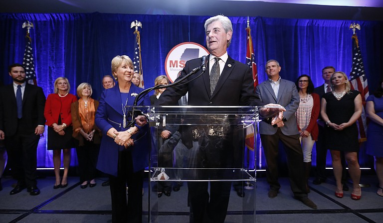 Although Gov. Phil Bryant (pictured) coasted to a second term, Democratic challenger Robert Gray collected nearly a third of all votes.