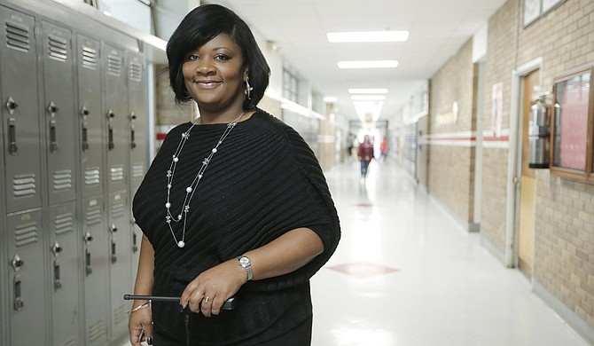 Laketia Marshall-Thomas, the fifth-year principal at Provine High School, attributes the rising graduation rate to the positive behavioral system.
