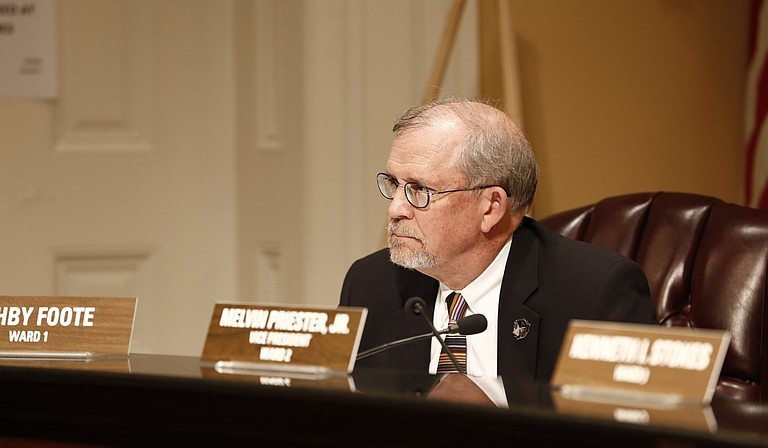 Ward 1 Councilman Ashby Foote is asking the council to award a contract to haul 305,000 tons of wet biosolids from a wastewater-treatment facility to a joint venture of Baltimore-based Synagro-WWT Inc., and Fisher Construction and Transportation.