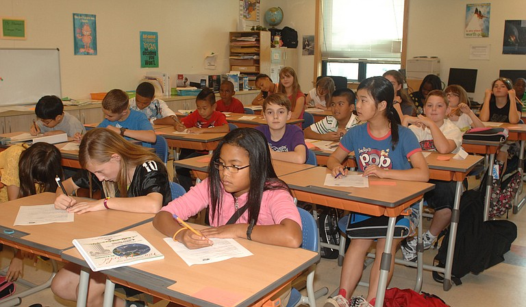 Sixty percent of Mississippi's third to eighth graders scored at or above the average level on the latest round of math and English assessments. Photo courtesy Flickr/USAG Humphreys