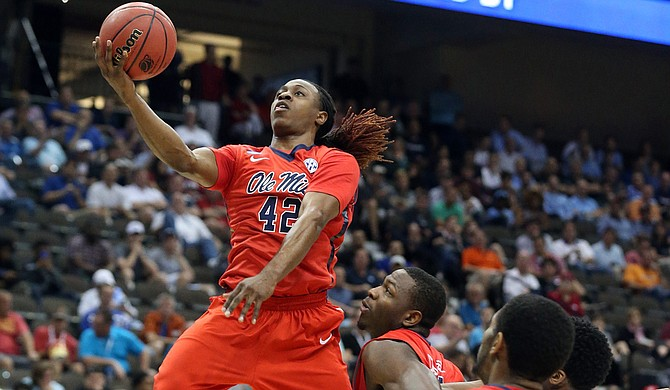 Stefan Moody of the University of Mississippi Rebels is currently averaging 23.8 points per game. Photo courtesy Joshua McCoy/Ole Miss Athletics