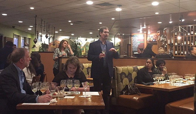 Sommelier Norm Rush was one of the hosts for this BRAVO! Italian Restaurant's Dec. 6 Champagne and sparkling wine tasting.