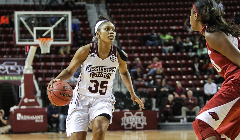 Lady Bulldog Victoria Vivians helped lead Mississippi State University to a banner season last year, and this season is looking even better for her and the team. Photo courtesy MSU Athletics