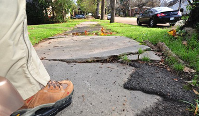 Advocates say the death of Timothy Ward, 49, is more reason to sue the City of Jackson for failure to comply with provisions of the Americans with Disabilities Act that call for accessible sidewalks. Photo courtesy Scott Crawford