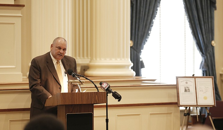 Dennis Dahmer, one of Vernon Dahmer's sons, thanked the Legislature for honoring his father from both sides of the political spectrum in both the House and the Senate.