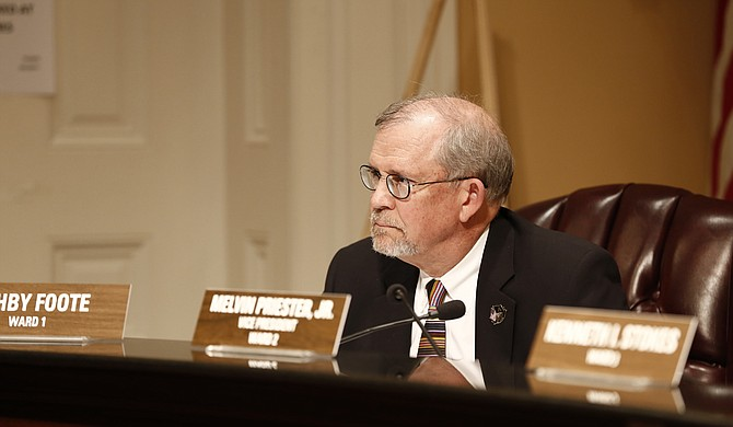 Ward 1 Councilman Ashby Foote (pictured) said he is uncomfortable with the city council taking up a resolution against high-speed chases, which he believes is designed to provide political cover for Ward 3 Councilman Kenneth Stokes, whose controversial statements sparked a firestorm.