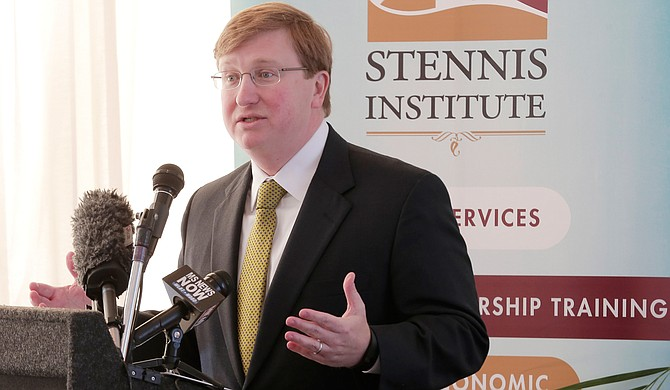 Lt. Gov. Tate Reeves told the Stennis Press Forum that he plans to revisit the state's K-12 funding formula in the upcoming legislative session.