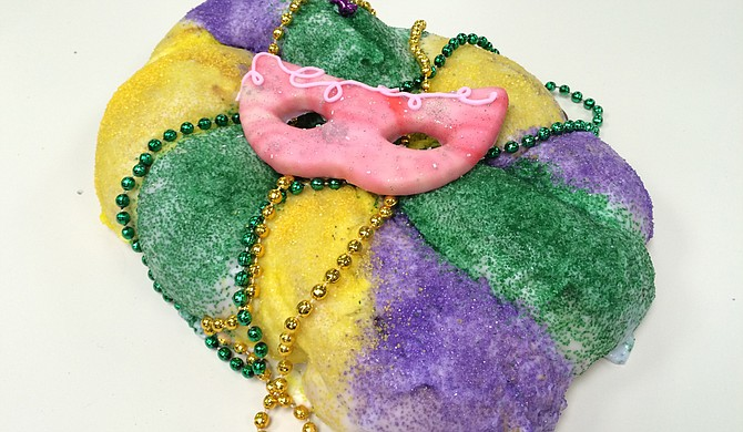 Broad Street Baking Company, among other local businesses, is currently serving king cake for 