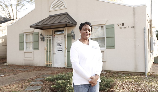 Ellen Collins is the director of Midtown Partner's Prosperity Center, which offers services like GED training and life-skills courses to local residents.