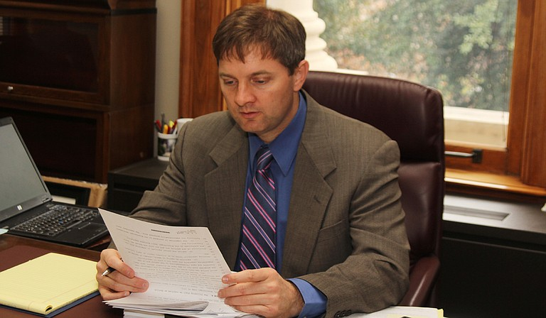 Sen. Joey Fillingane, R-Sumrall authored Senate Bill 2101, which would make the position of state superintendent an elected one. Photo courtesy Virginia Schreiber