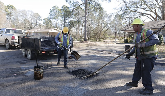 The City allocated just over $2 million to streets in the recent budget, but sinkholes, utility cuts, cracks, ruts, and potholes come in every shape, size and depth imaginable.