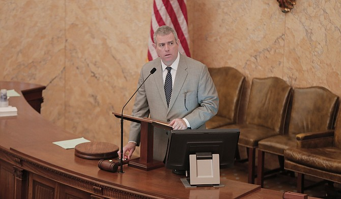 Mississippi House Speaker Phillip Gunn said Monday that he has been working to see if at least half of the 122 House members can agree on a flag bill.