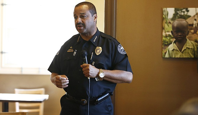 Jackson Police Chief Lee Vance is celebrating earning the department's first accreditation in its history.