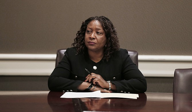 Jackson Public Schools Board President Beneta Burt announced the plan to test the water at area elementary schools first.