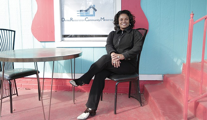 Sonia Harris Carter runs her own real-estate agency to help fund her multiple homeless shelters she runs and is looking to renovate.