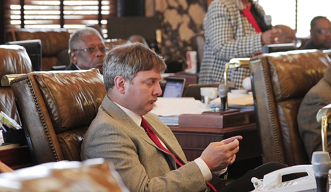Sen. Joey Fillingane, R-Sumrall, authored the Taxpayer Pay Raise Act of 2016, which cuts three separate taxes over 15 years. The bill passed the Senate March 10 but was held on a motion to reconsider.