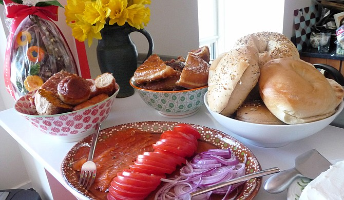 Many local restaurants and bakeries are offering special Easter menus. Photo courtesy Flickr/Lisa Cericola