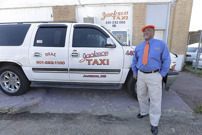"Nate Johnson, a 40-year taxi driver and manager at Jackson Taxi, said that many people don't know what taxi drivers face here. ""They just think that we are charging too much, which really we are not,"" he said."