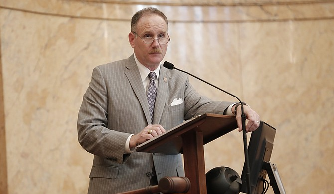 Rep. Mark Baker, R-Brandon, brought the airport bill up on the House floor today, and after over three hours of debate, it passed by a vote of 74-46 and was held on a motion to reconsider.